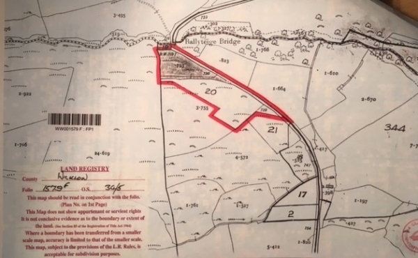 C 2.25 Acres of Land Ballycurragh