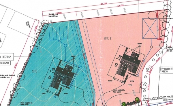 C. 0.75 Acres Sites with Planning Permission at Ballymanus Upper, Glenealy, Co. Wicklow